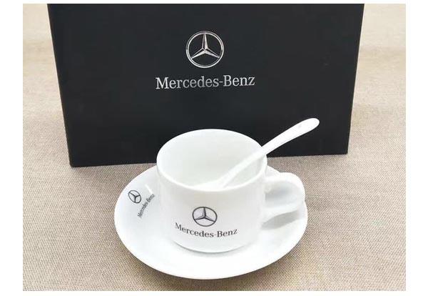 汽车电信礼品定制--三件套咖啡杯礼品奔驰汽车定制