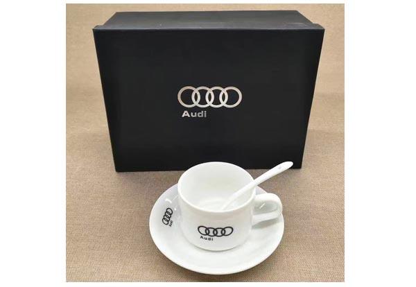 汽车电信礼品定制--三件套咖啡杯礼品奥迪汽车定制