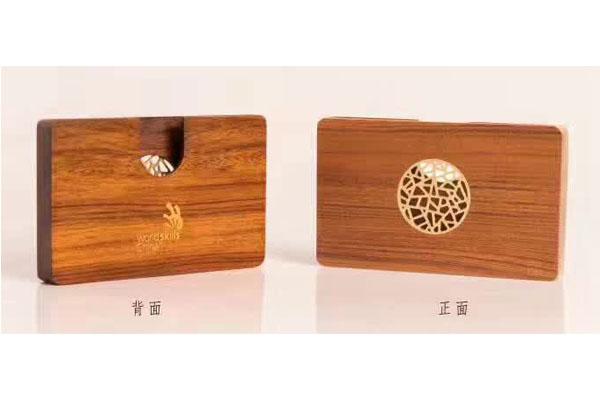 红木礼品定制-名片盒定制