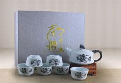 茶礼礼盒-雪花釉(虎头款)