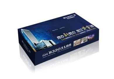 纸巾盒促销礼品-苏宁房地产礼品