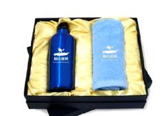 运动水杯+毛巾促销礼品套装--碧桂园房地产礼品