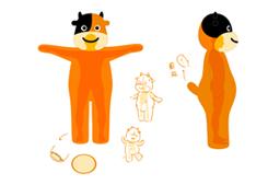 活动礼品--途年旅游礼品玩偶服定制