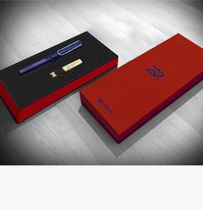 房地产礼品定制--新景祥房地产礼品定制-凌美笔+16GU盘