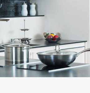 房地产交房礼品-艾铂赫厨房不锈钢两件套-炒锅+汤锅