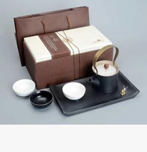 房地产开盘礼品--蜗牛提梁小干泡盘五件套