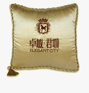 抱枕促销礼品-卓越君城房地产礼品