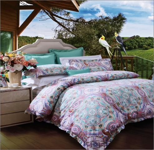 房地产交房礼品--富安娜家纺--床上四件套-北欧假期