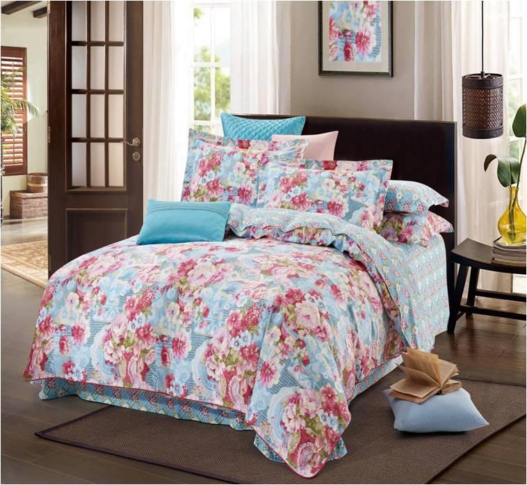 房地产交房礼品--富安娜家纺--床上四件套-春意暖阁