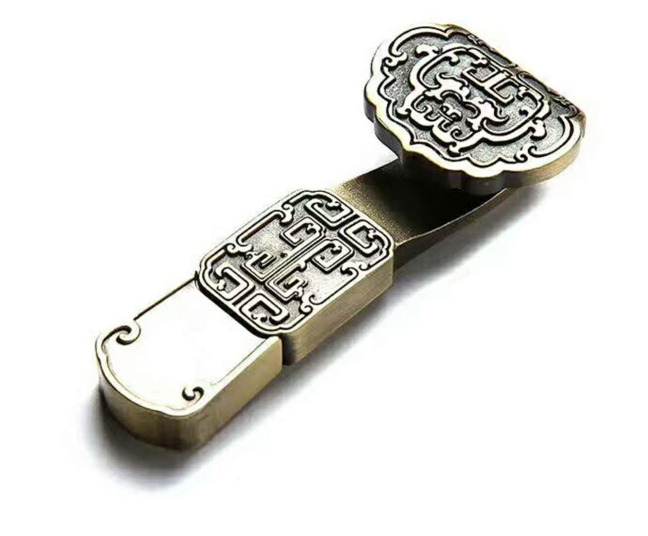房地产开盘礼品:铜如意U盘