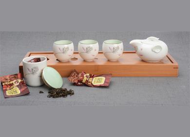 茶礼礼盒--雪花釉(虎头款)