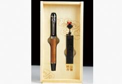 房地产开盘礼品--红木两件套-红木U盘+红木笔