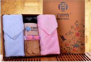 商务礼品 · 竹纤维毛巾套装