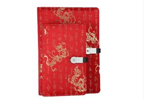 商务礼品 · 丝绸无线电源笔记本