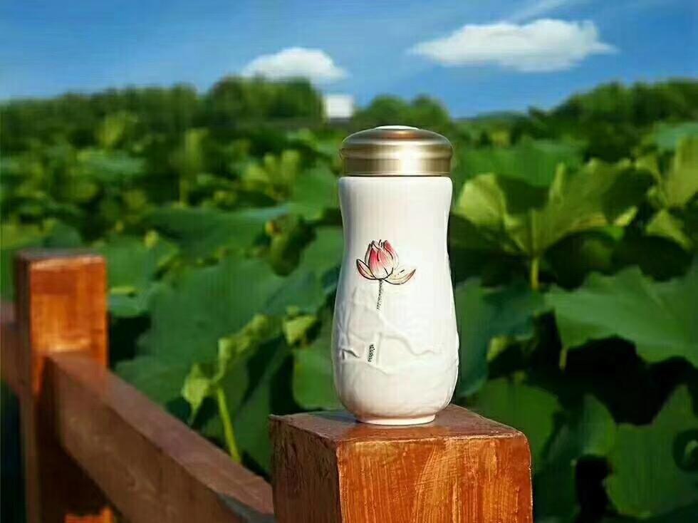 会议礼品定制--乾唐轩活瓷杯