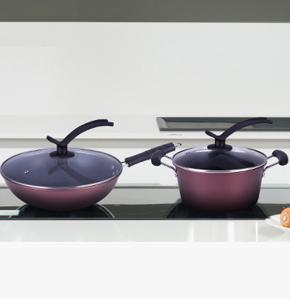 房地产签约礼品-艾铂赫厨房两件套-炒锅+汤锅