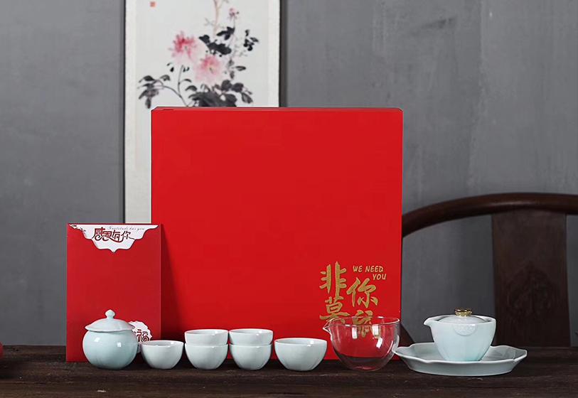 商务礼品:茶具套装-非你莫属精品礼盒