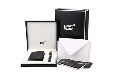 商务礼品,国际品牌礼品:万宝龙商务套装,笔+钱夹