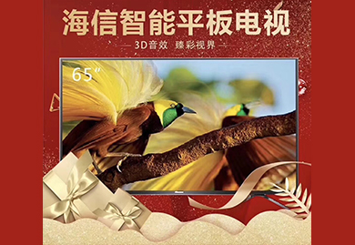 房地产营销礼品,交房礼品;海信HZ65H55 65英寸智能平板电视