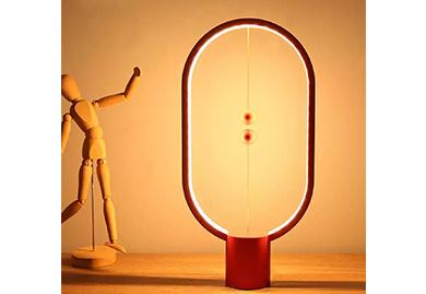 会议礼品,定制礼品:LED智能黑科技磁吸式台灯