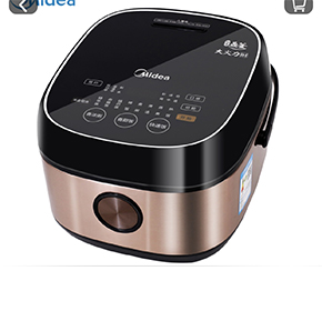 房地产礼品,房地产交房礼品:美的MB-FB40STAR501 1H智能精钢厚釜电饭煲