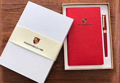商务礼品-保时捷定制-笔记本+笔套装