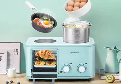 房地产礼品-美国西屋-四合一早餐机