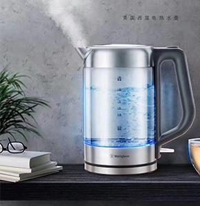房地产礼品-美国西屋-耐热玻璃电热水壶